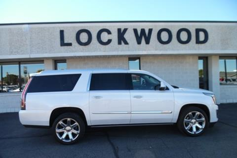 2016 Cadillac Escalade ESV for sale in Marshall, MN