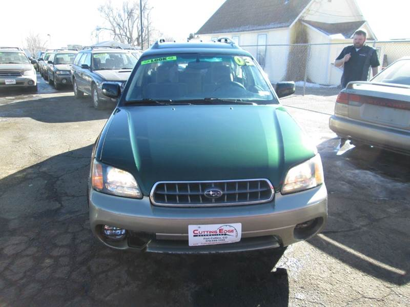 2003 Subaru Outback Awd 4dr Wagon In Fort Collins Co Cutting Edge