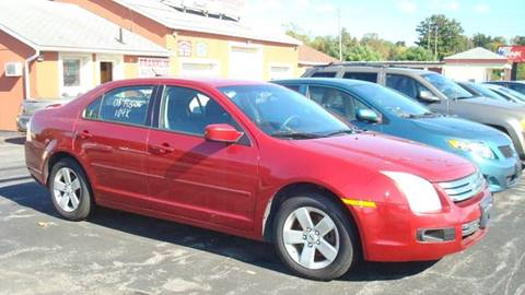 2008 Ford Fusion for sale at Franklin Auto Sales in Herkimer NY