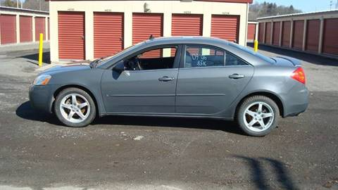 2009 Pontiac G6 for sale at Franklin Auto Sales in Herkimer NY