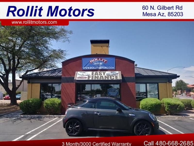 2012 MINI COOPER COUPE S 2DR COUPE unspecified going to auction monday wholesale pricing today