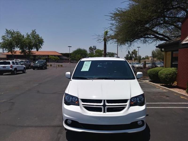 2016 DODGE GRAND CARAVAN RT 4DR MINI VAN unspecified leather  loaded wheels cool white rt p