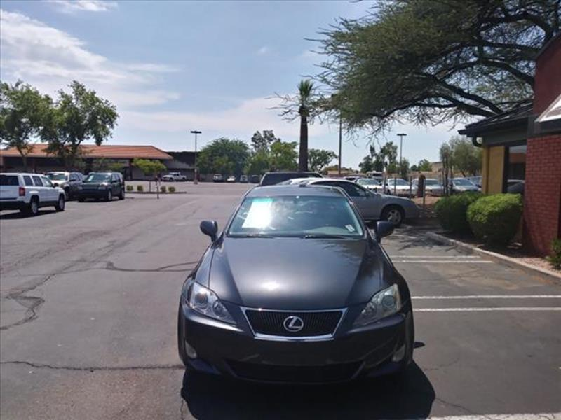 2007 LEXUS IS 250 BASE 4DR SEDAN 25L V6 6M unspecified clean car fax  fully equipped moon ro