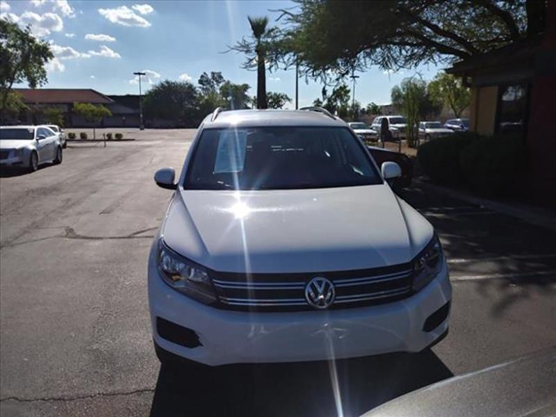 2017 VOLKSWAGEN TIGUAN 20T S 4DR SUV unspecified going to auction monday wholesale pricing to