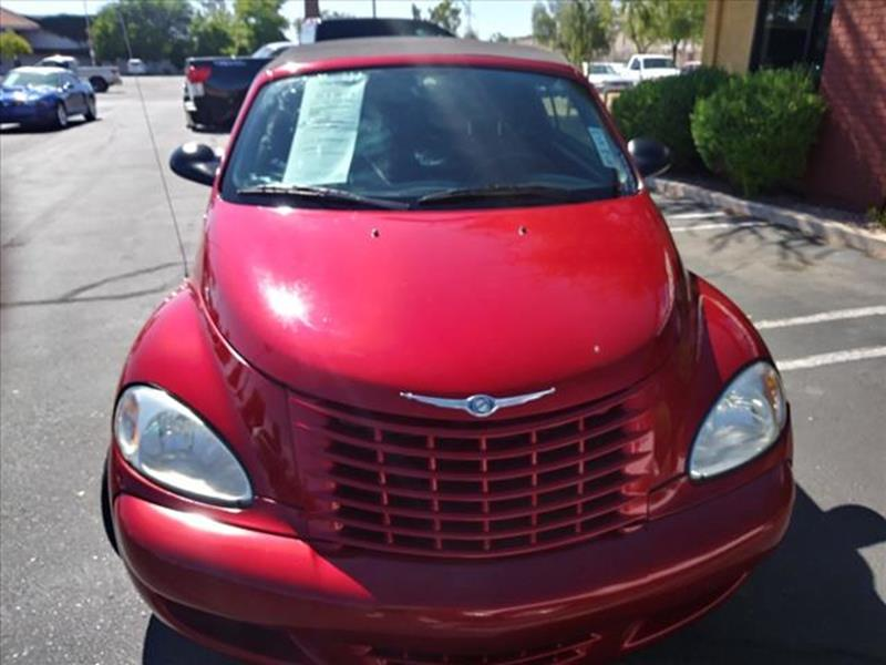 2005 CHRYSLER PT CRUISER TOURING 2DR TURBO CONVERTIBLE unspecified low low miles convertible f