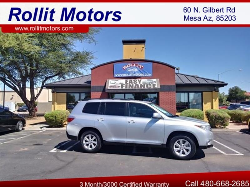 2011 TOYOTA HIGHLANDER BASE AWD 4DR SUV unspecified all wheel driveleather moonroof grille col