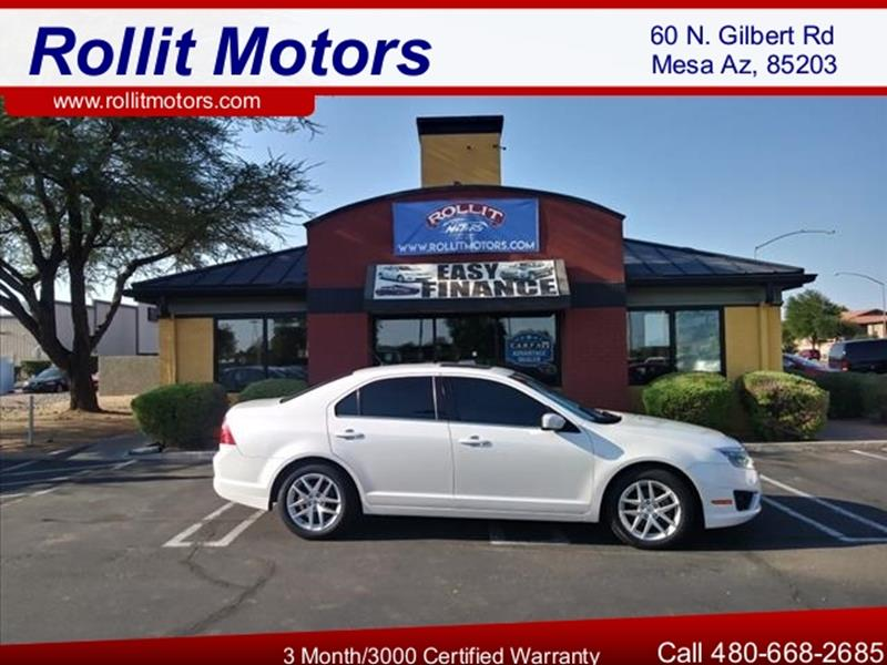 2012 FORD FUSION SEL 4DR SEDAN unspecified every possible optionleather moonroof alloy wheels