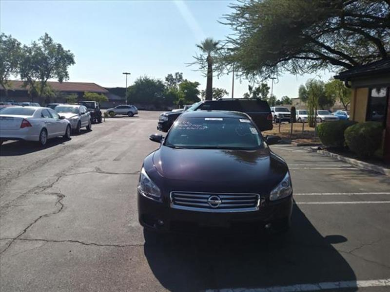 2014 NISSAN MAXIMA 35 SV 4DR SEDAN unspecified exhaust tip color chromeexhaust dual exhaust tip