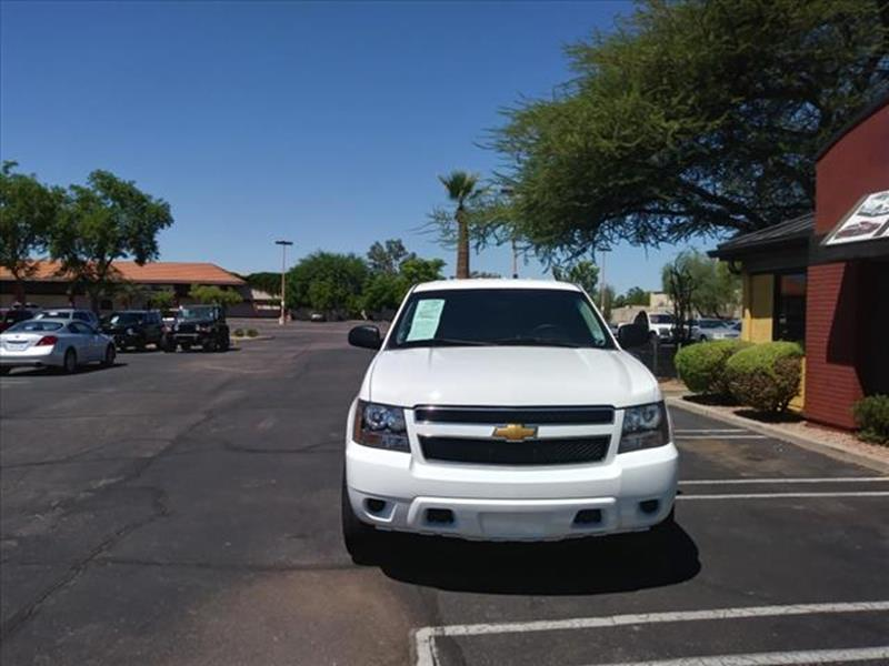 2012 CHEVROLET TAHOE SPECIAL SERVICE 4X4 4DR SUV summit white going to auction mondaywholesale