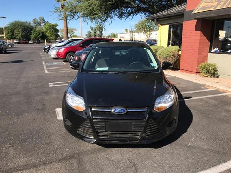 2014 FORD FOCUS SE 4DR HATCHBACK unspecified grille color black with chrome accentsmirror color