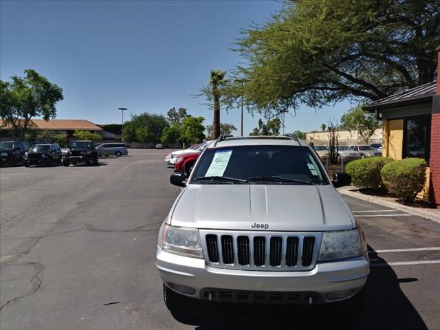 2002 JEEP GRAND CHEROKEE OVERLAND 4DR 4WD SUV unspecified skid platesabs brakes 4-wheelair