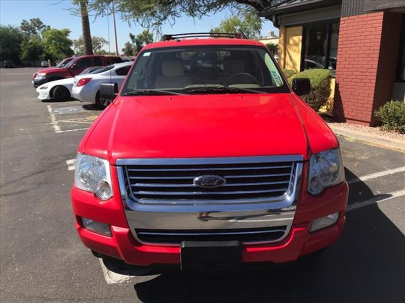 2008 FORD EXPLORER XLT 4X4 4DR SUV V6 unspecified 4 x 4 grille color chromerear bumper color b