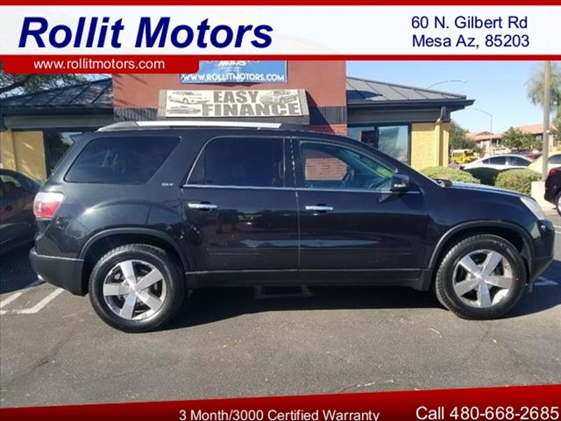 2011 GMC ACADIA SLT 1 4DR SUV unspecified body side moldings body-colorexhaust tip color chrome