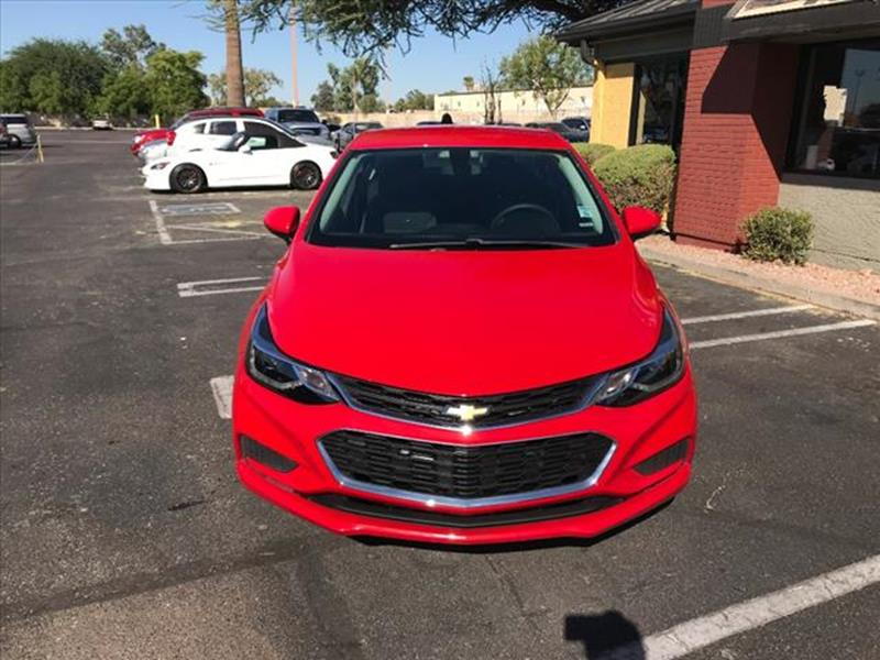 2017 CHEVROLET CRUZE LT AUTO 4DR SEDAN unspecified low miles like brand new  grille color b