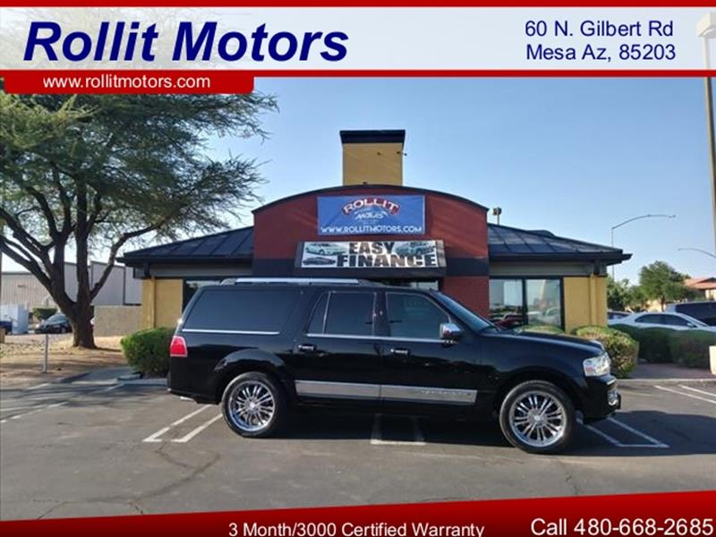 2007 LINCOLN NAVIGATOR L LUXURY 4DR SUV 4WD unspecified rare  l  edition will haul the whole famil