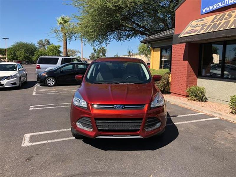 2015 FORD ESCAPE SE 4DR SUV unspecified active grille shuttersexhaust tip color chromeexhaust d