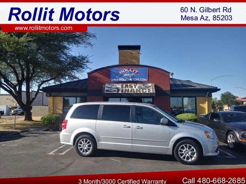 2011 DODGE GRAND CARAVAN RT 4DR MINI VAN unspecified amazing equipment in this rare rt version