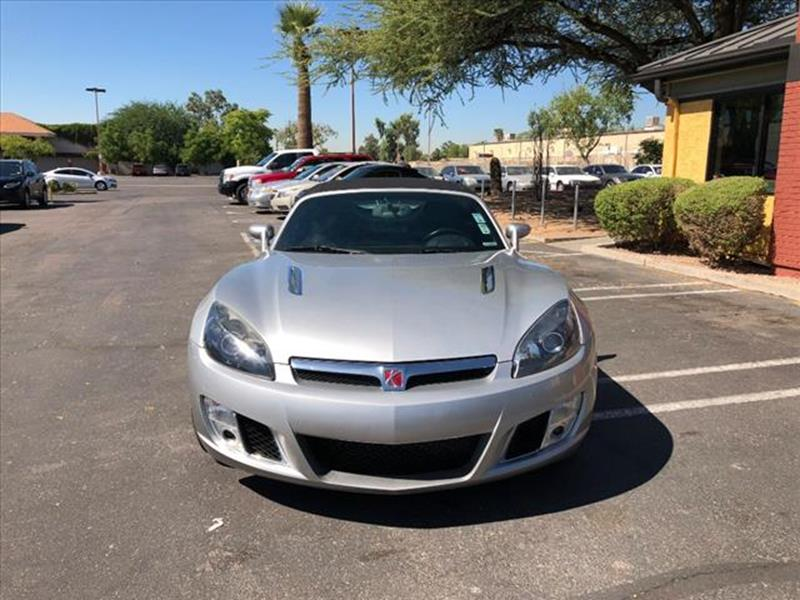 2009 SATURN SKY RED LINE 2DR CONVERTIBLE unspecified exhaust tip color polished aluminumexhaust