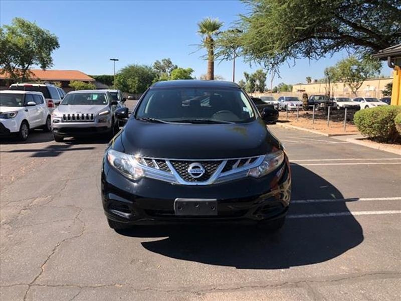 2012 NISSAN MURANO S 4DR SUV black exhaust tip color chromeexhaust dual exhaust tipsmirror colo