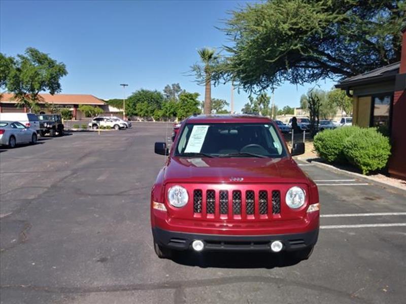 2014 JEEP PATRIOT SPORT 4DR SUV unspecified grille color body-colormirror color blackrear bumpe