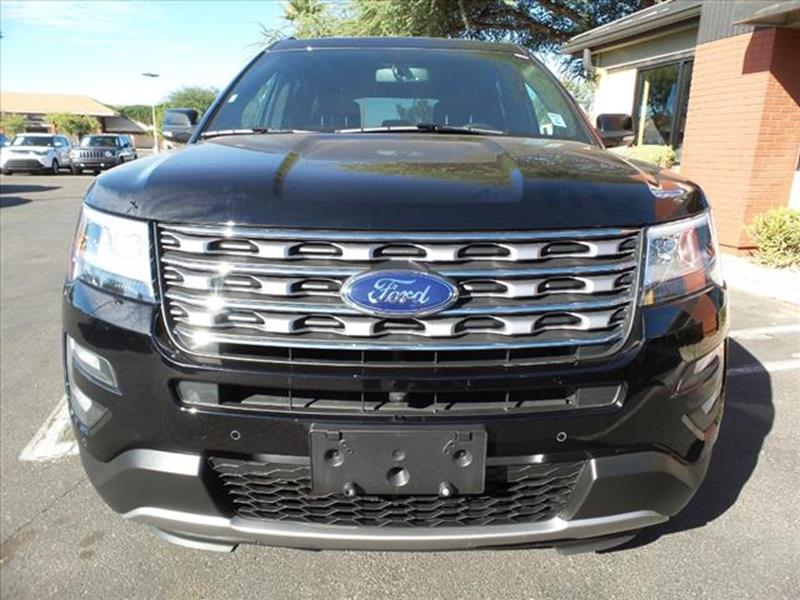 2017 FORD EXPLORER LIMITED 4DR SUV unspecified body side moldings chromeexhaust tip color chrome