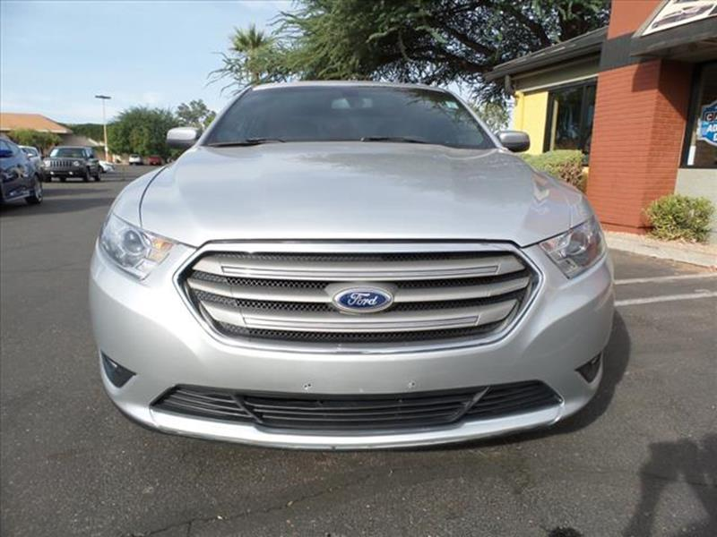 2013 FORD TAURUS SEL 4DR SEDAN silver exhaust tip color chromeexhaust dual exhaust tipsgrille c