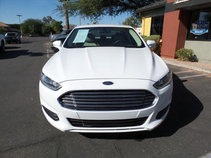 2014 FORD FUSION SE 4DR SEDAN white exhaust tip color chromegrille color chromemirror color bod