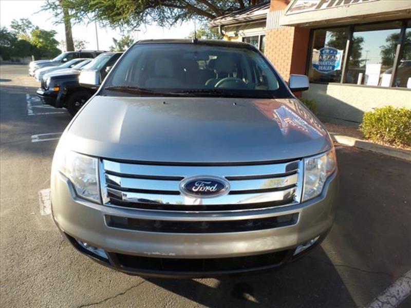 2008 FORD EDGE LIMITED 4DR CROSSOVER silver body side moldings chromeexhaust tip color chromeex