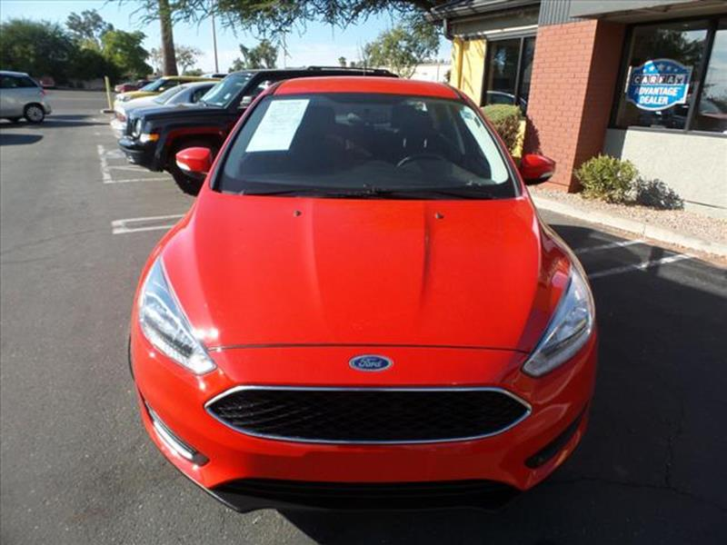 2016 FORD FOCUS SE 4DR SEDAN red active grille shuttersgrille color black with chrome accentsmi