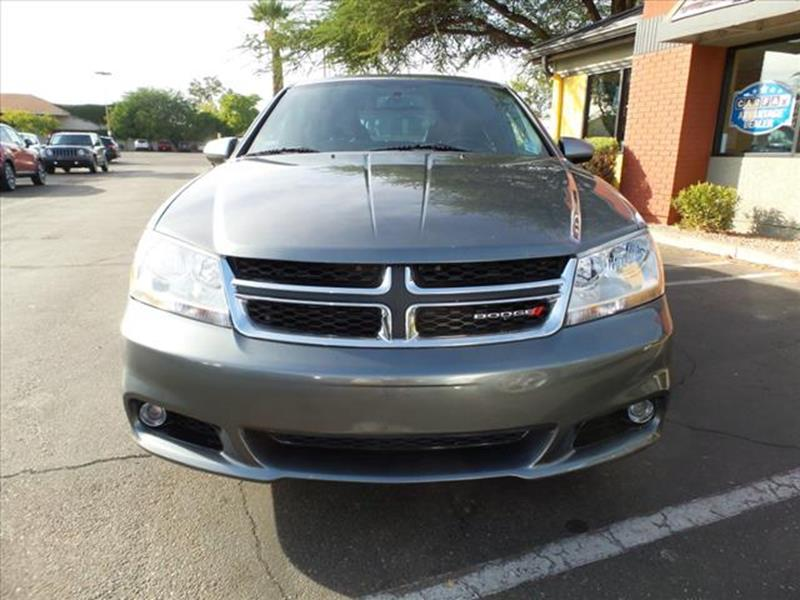 2013 DODGE AVENGER SXT 4DR SEDAN gray grille color black with chrome accentsmirror color body-co