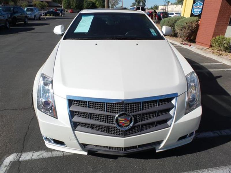2011 CADILLAC CTS 36L PERFORMANCE 2DR COUPE off white exhaust tip color stainless-steelexhaust