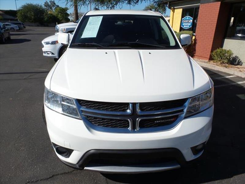 2013 DODGE JOURNEY SXT AWD 4DR SUV white all wheel drive exhaust tip color chromeexhaust dual ex