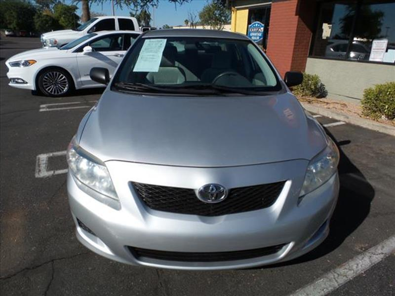 2009 TOYOTA COROLLA LE 4DR SEDAN 4A silver awesome 18l 132 hp  4 speed automatic sequential elec