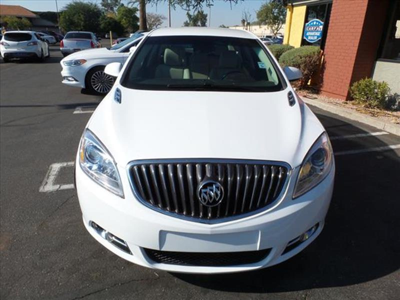 2016 BUICK VERANO SPORT TOURING 4DR SEDAN white exhaust tip color chromegrille color black chrom