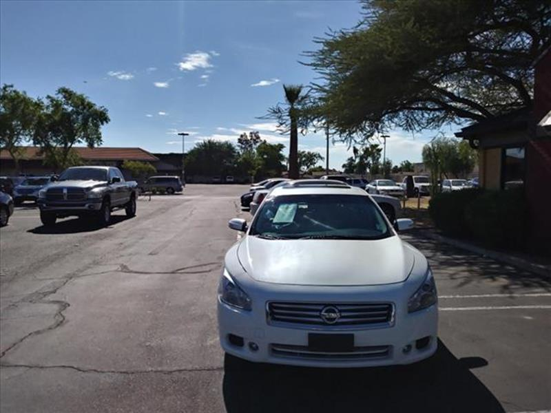 2014 NISSAN MAXIMA 35 SV 4DR SEDAN unspecified cool white cool tan leather moonroof wheels l