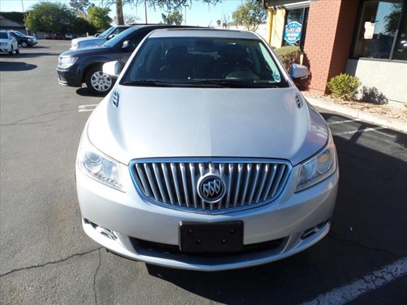 2010 BUICK LACROSSE CXS 4DR SEDAN silver leather  body side moldings chromeexhaust tip color