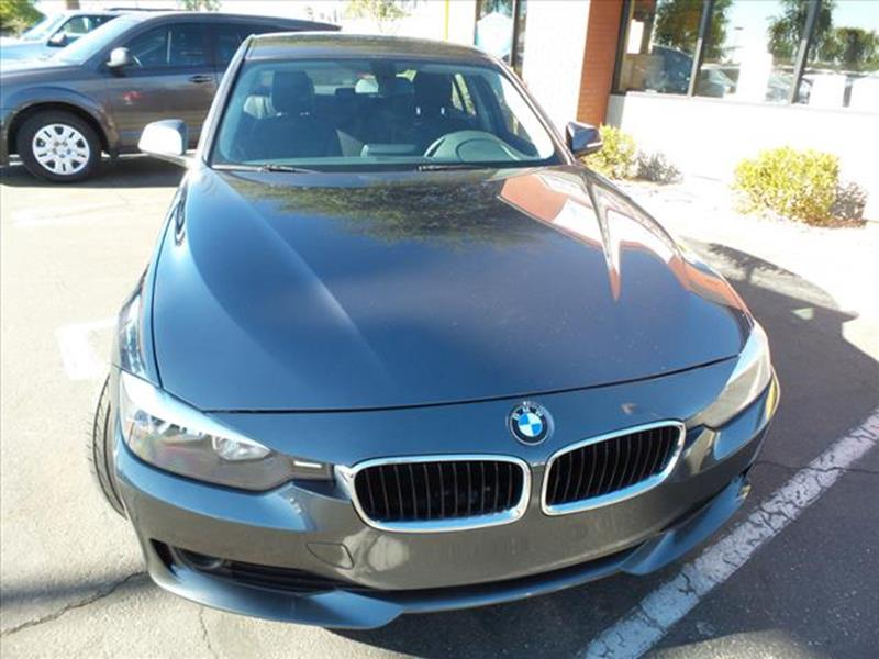 2014 BMW 3 SERIES 320I 4DR SEDAN dk gray exhaust tip color stainless-steelgrille color blackmi