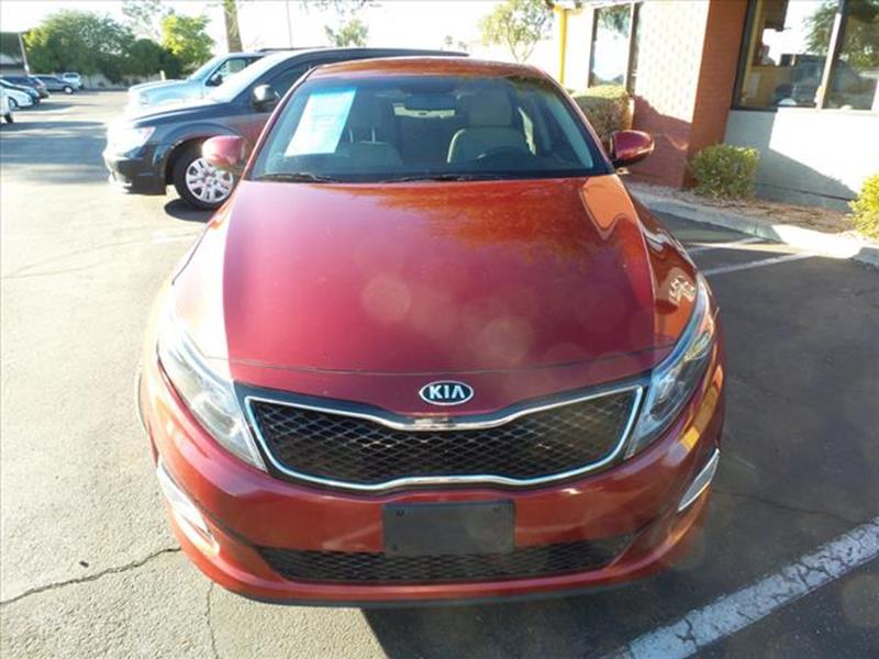 2014 KIA OPTIMA LX 4DR SEDAN red body side moldings body-colorexhaust tip color chromeexhaust d