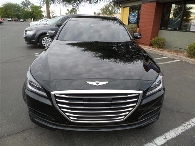 2015 HYUNDAI GENESIS 38L black exhaust dual exhaust tipsgrille color greymirror color body-col