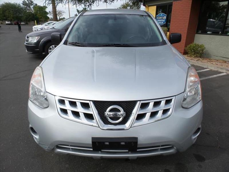 2013 NISSAN ROGUE S AWD 4DR CROSSOVER silver body side moldings chromeexhaust tip color stainles