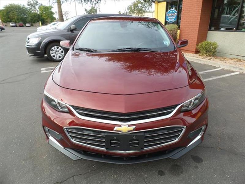 2016 CHEVROLET MALIBU LT 4DR SEDAN W1LT dk red exhaust tip color stainless-steelexhaust dual e