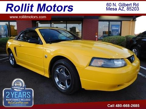2004 Ford Mustang for sale in Mesa, AZ