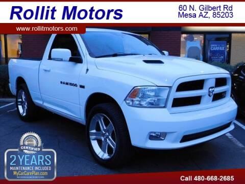 2011 RAM Ram Pickup 1500 R/T Sport for sale at Rollit Motors in Mesa AZ