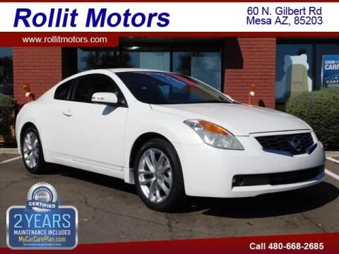 2009 Nissan Altima 3.5 SE for sale at Rollit Motors in Mesa AZ