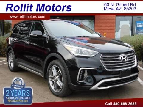 2017 Hyundai Santa Fe Limited Ultimate for sale at Rollit Motors in Mesa AZ