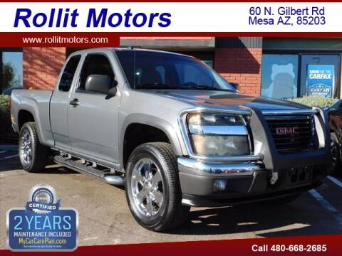 2008 GMC Canyon SL for sale at Rollit Motors in Mesa AZ
