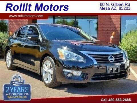 2015 Nissan Altima for sale at Rollit Motors in Mesa AZ
