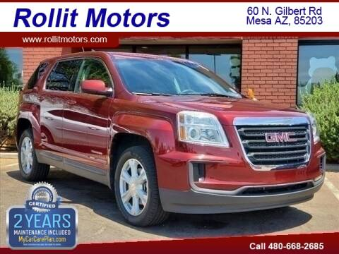 2017 GMC Terrain for sale at Rollit Motors in Mesa AZ
