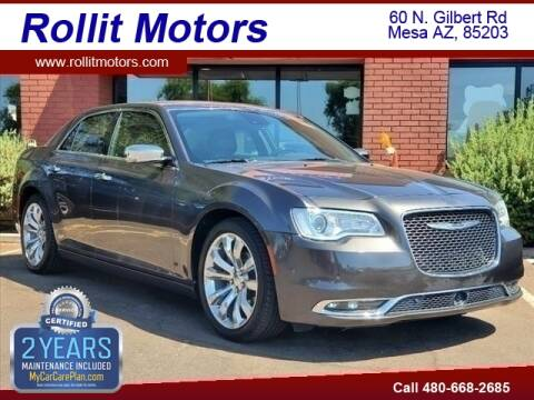 2017 Chrysler 300 for sale at Rollit Motors in Mesa AZ
