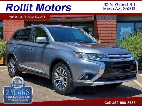 2018 Mitsubishi Outlander for sale at Rollit Motors in Mesa AZ